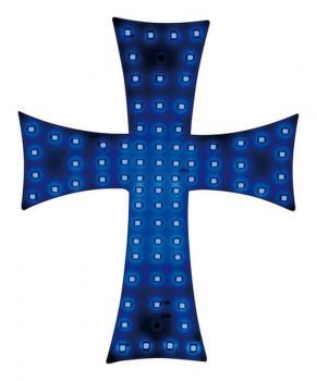 Led Cross 24V - Blau