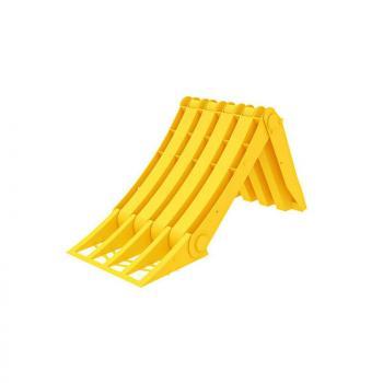 Origamy, faltbarer thermoplastischer Radkeil