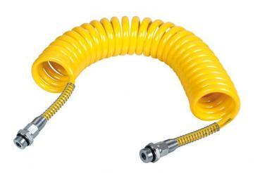 Luftspiralschlauch - Gelb