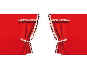 Abdunkelnde Seitenvorhänge für das Führerhaus - Standardkabine