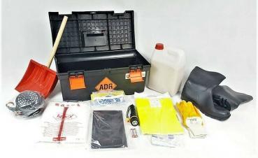 ADR Gefahrgutausrüstung mit Koffer - Set