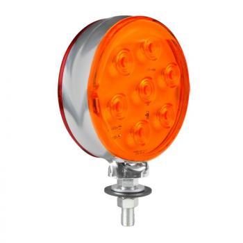 Loki-Led, Umrisslicht mit 14 LEDS, Doppelte Funktion, 12/24V - Rot/Orange