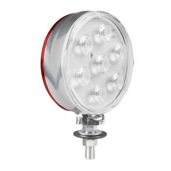 Loki-Led, Umrisslicht mit 14 LEDS, Doppelte Funktion, 12/24V - Rot/Weiß